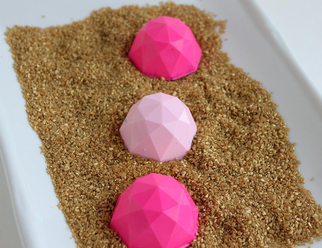 pink pretzel balls